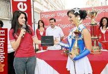 María Fernanda Sierra. Mejor Palillona 2010 Honduras.