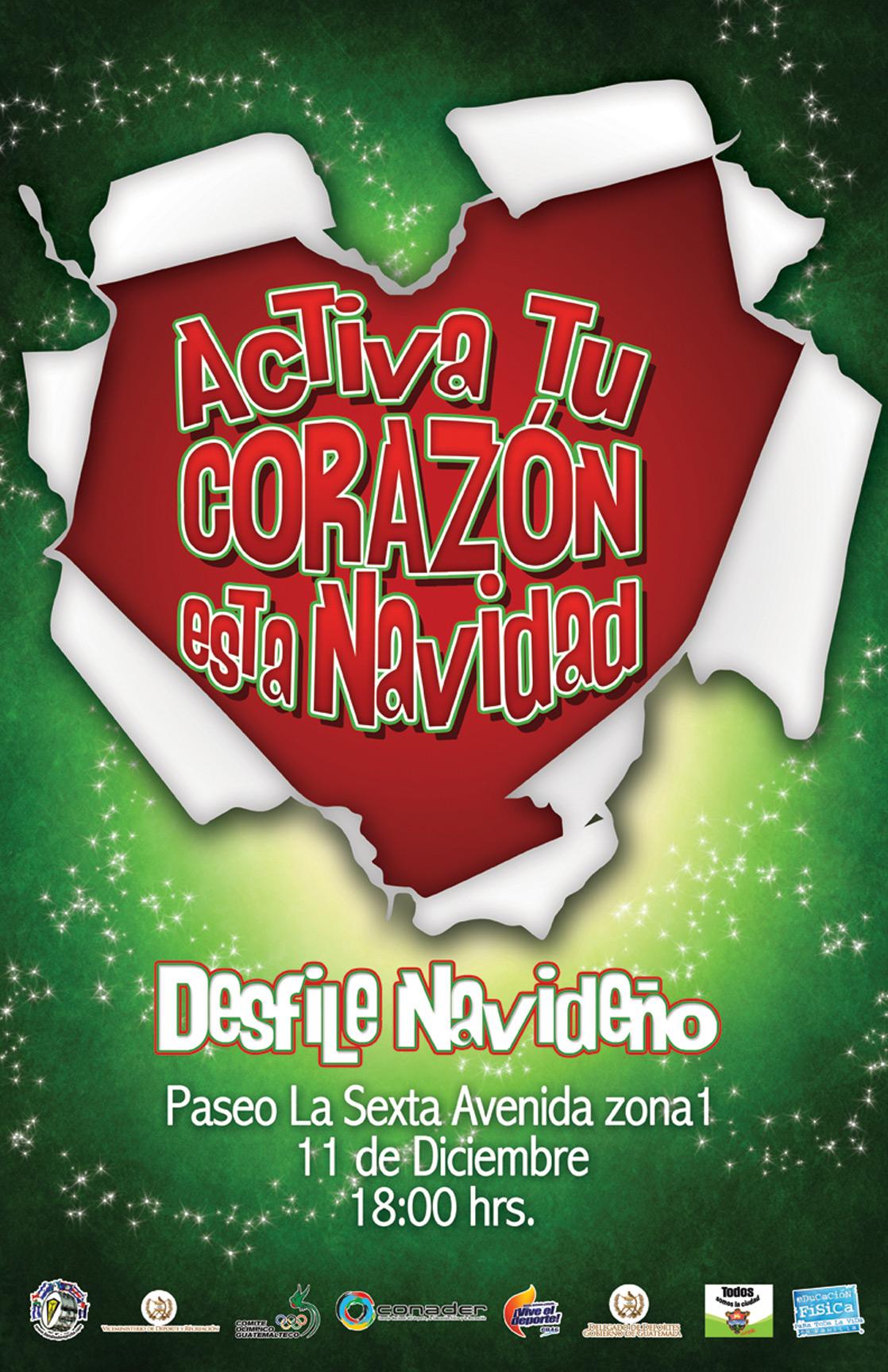 Afiche-Desfile-Navideño-2011-Guatemala | Revista ¡EN MARCHA!