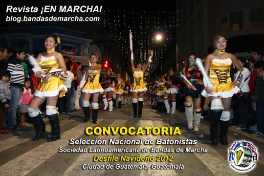 Desfile-Navideño-2012-Seleccion-Nacional-de-Batonistas-Guatemala-bandasdemarcha-majorettes-baton-twirlers