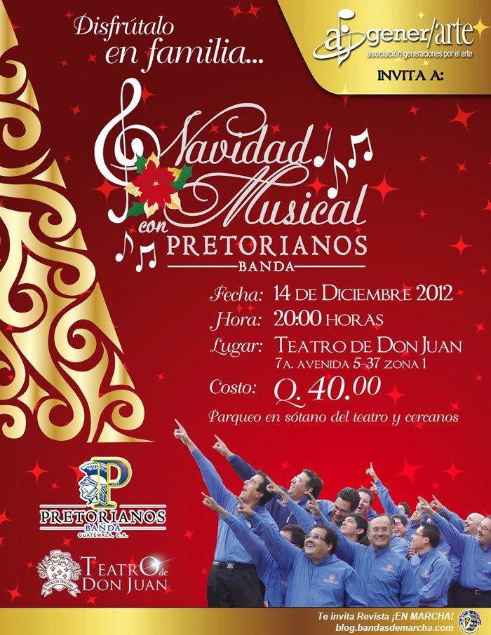 Navidad Musical con Pretorianos, Guatemala | Revista ¡EN MARCHA!