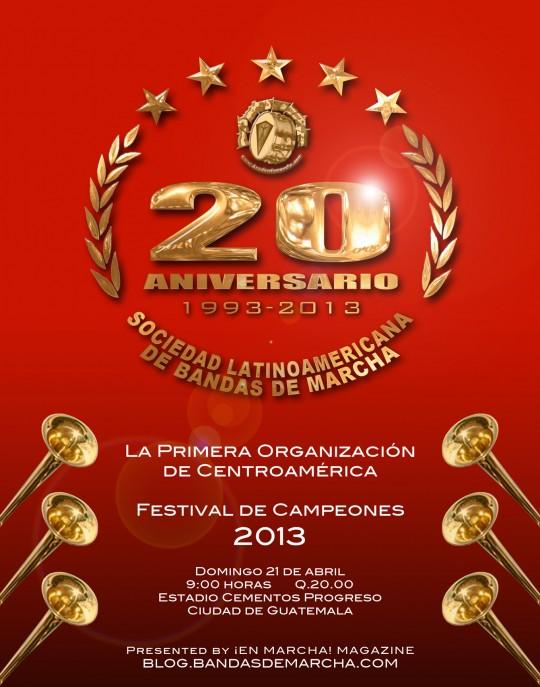 Poster-marching-bands-Festival-20-Aniversario-Guatemala-2013-bandasdemarcha