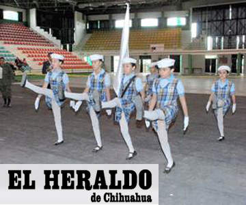 El-Heraldo-de-Chihuahua-Mexico-Concurso-de-Escoltas-y-Bandas-de-Guerra-2013