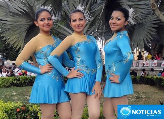 Noticias-Net-Oaxaca-Mexico-Batoneras-Encuentro-Estatal-de-Secundarias-01