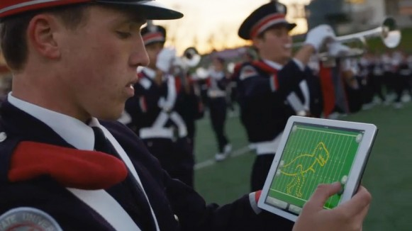 Ohio-State-Marching-Band-Apple-commercial-ad-ipad-air-2014