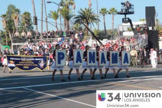Univision-USA-34-Channel-banda-panama-desfile-de-las-rosas-2014-01