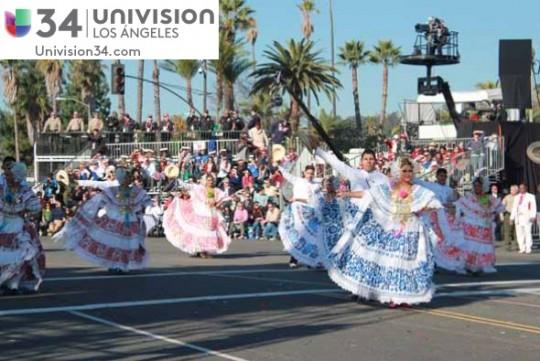 Univision-USA-34-Channel-banda-panama-desfile-de-las-rosas-2014-rose-parade-03