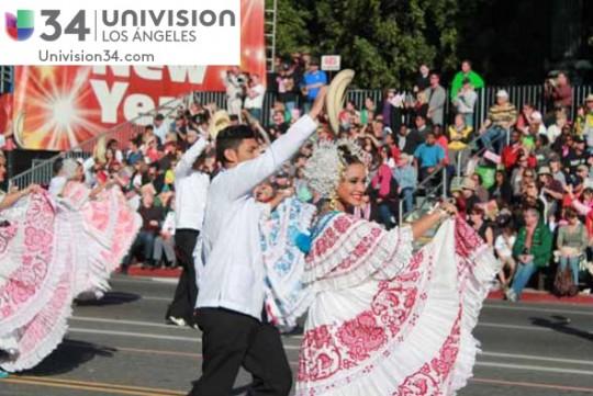 Univision-USA-34-Channel-banda-panama-desfile-de-las-rosas-2014-rose-parade-04
