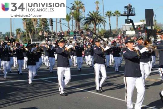 Univision-USA-34-Channel-banda-panama-desfile-de-las-rosas-2014-rose-parade-06