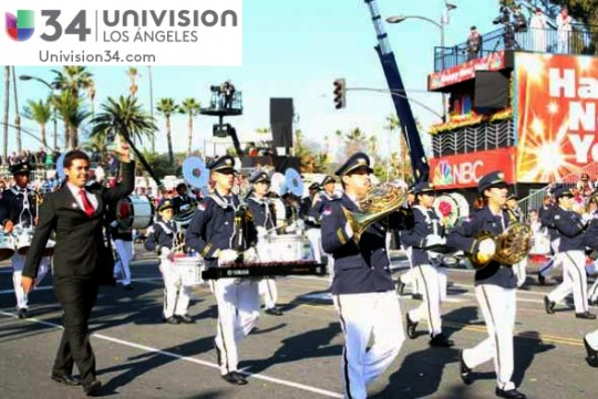 Univision-USA-34-Channel-banda-panama-desfile-de-las-rosas-2014-rose-parade-07