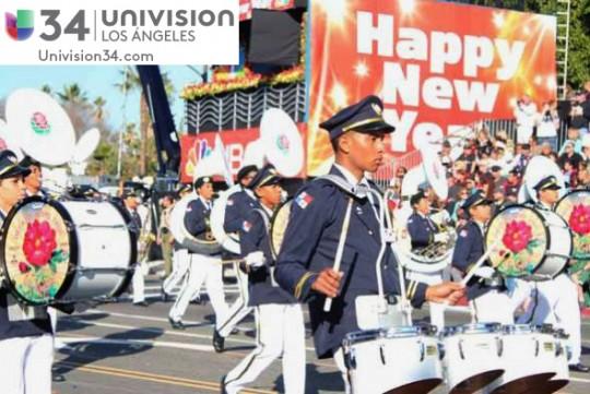 Univision-USA-34-Channel-banda-panama-desfile-de-las-rosas-2014-rose-parade-08