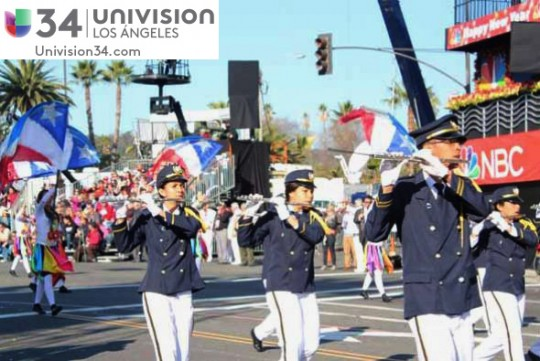 Univision-USA-34-Channel-banda-panama-desfile-de-las-rosas-2014-rose-parade-09