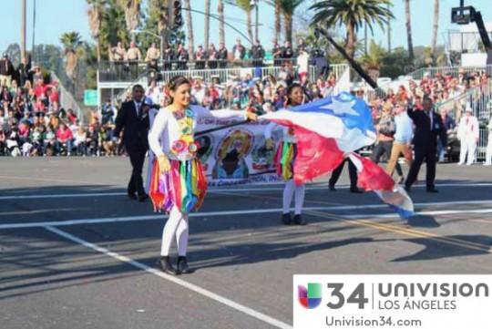 Univision-USA-34-Channel-banda-panama-desfile-de-las-rosas-2014-rose-parade-10