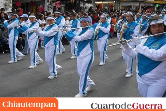 Cuarto-de-Guerra-Chiautempan-Mexico-Desfile-Remate-de-Carnaval-2014-marching-band-bandas-de-marcha
