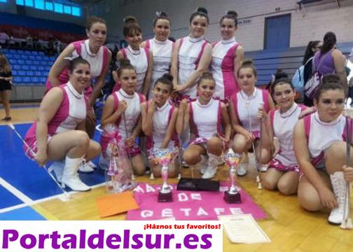 Portal-del-Sur-Espana-Majorettes-de-Getafe-2014-bastoneras-baton-twirlers