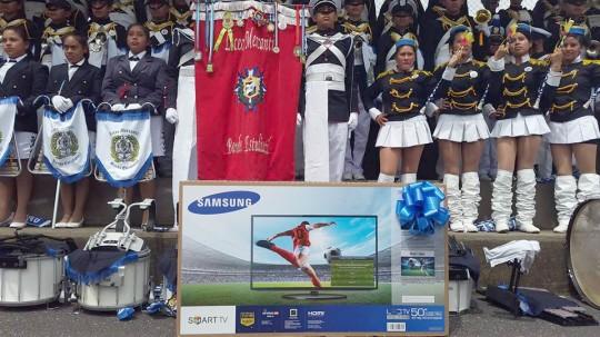 Copa-Samsung-Guatemala-bandas-Banda-de-Guerra-Liceo-Mercantil