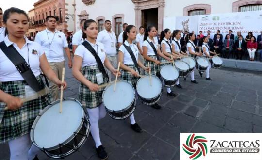 Gobierno-de-Estado-de-Zacatecas-Inauguracion-IV-Concurso-Nacional-de-Bandas-de-Guerra-y-Escoltas-de-Bandera-DGTA-2014-03