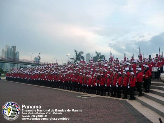Ensamble-Nacional-de-Bandas-de-Marcha-Panama-2014-01