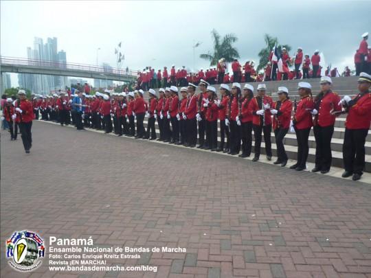 Ensamble-Nacional-de-Bandas-de-Marcha-Panama-2014-02