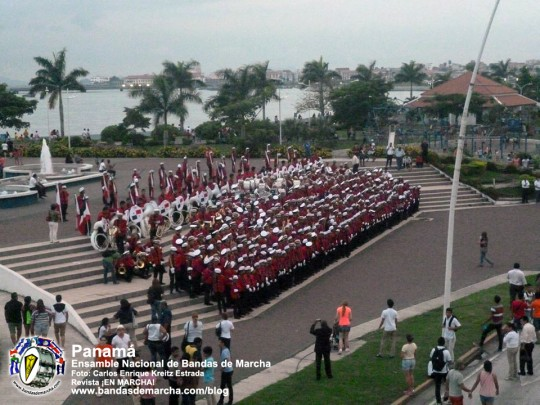 Ensamble-Nacional-de-Bandas-de-Marcha-Panama-2014-07