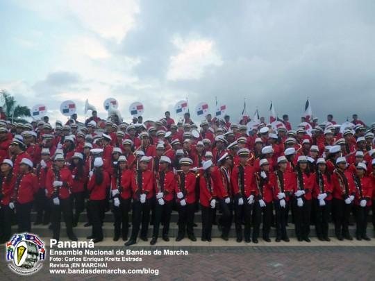 Ensamble-Nacional-de-Bandas-de-Marcha-Panama-2014-08