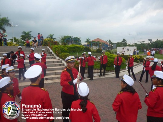Ensamble-Nacional-de-Bandas-de-Marcha-Panama-2014-10