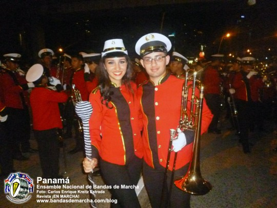 Ensamble-Nacional-de-Bandas-de-Marcha-Panama-2014-15