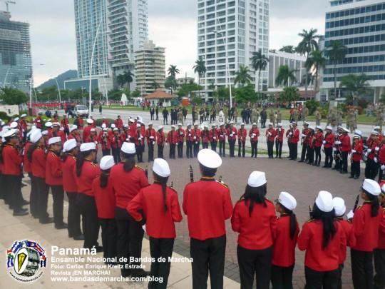 Ensamble-Nacional-de-Bandas-de-Marcha-Panama-2014-18