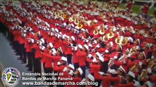 Ensamble-Nacional-de-Bandas-de-Marcha-Panama-2014