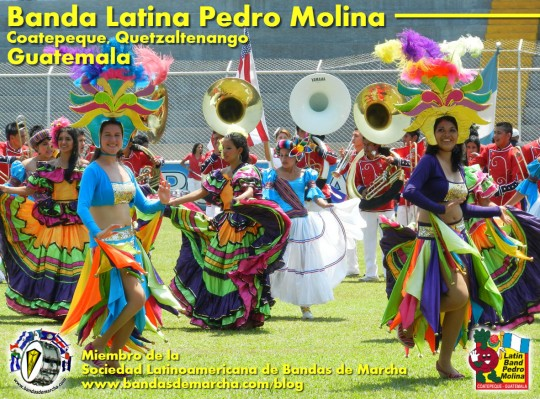 Banda Latina Pedro Molina Coatepeque Quetzaltenango Guatemala 2014
