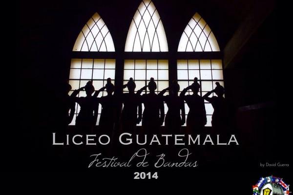 Festival de Bandas 2014 del Liceo Guatemala