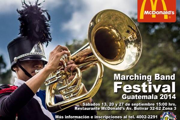 Guatemala: McDonald's Marching Band Festival 2014