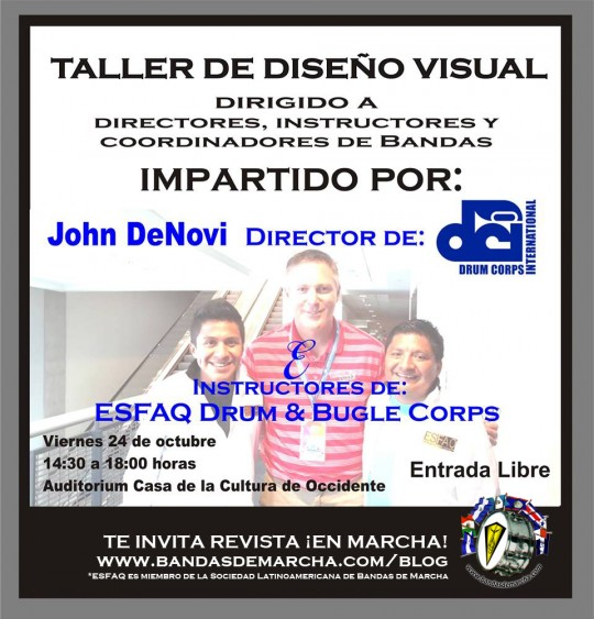 DCI-USA-John-DeNovi-Guatemala-ESFAQ-Quetzaltenango-clinic-Drum-and-Bugle-Corps-poster