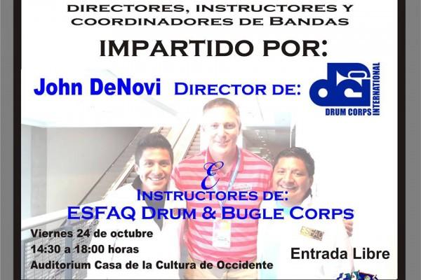 Guatemala: John DeNovi director de DCI impartirá taller en Quetzaltenango