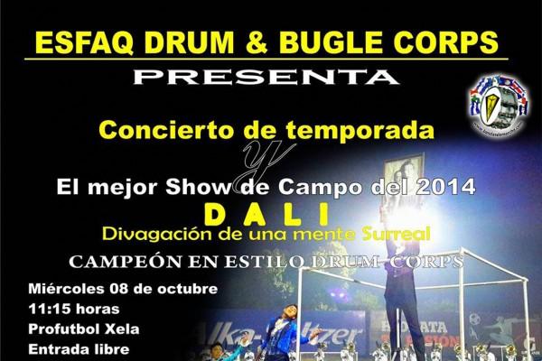 ESFAQ, Guatemala: Dali Concierto de Temporada 2014
