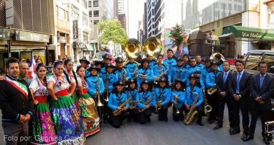 Mexico-Minerva-Marching-Band-BUAP-Desfile-de-la-Hispanidad-2014-New-York-