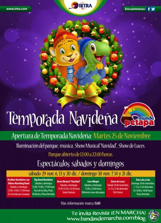 Guatemala-Temporada-Navidena-IRTRA-Mundo-Petapa-2014-desfile-Buhos-Marching-Band