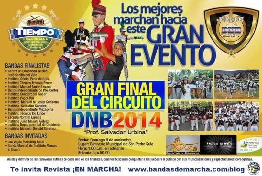 Hoduras-Gran-Final-DNB-2014-Bandas-de-Marcha