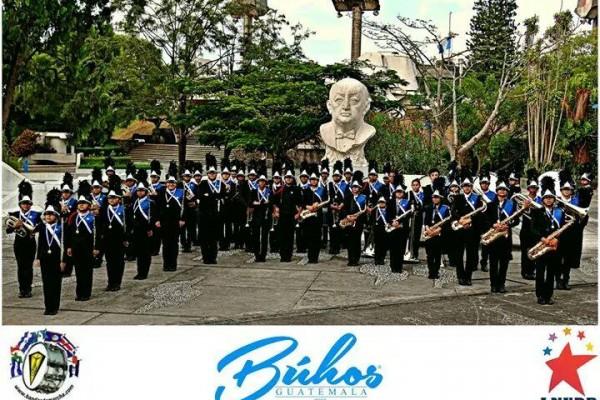 LNYDP, Londres: Estamos deseando dar la bienvenida a Buhos Marching Band, Guatemala