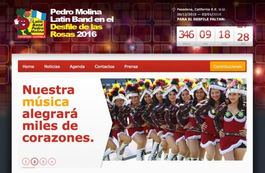 Guatemala-Banda-Latina-Pedro-Molina-website-home-page-desfile-de-las-rosas-2016