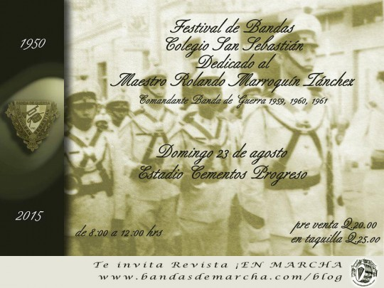 Poster-Festival-de-Bandas-Colegio-San-Sebastian-Guatemala-2015