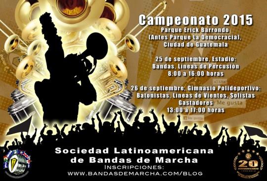 Guatemala-Campeonato-Nacional-Bandas-de-Marcha-2015-poster