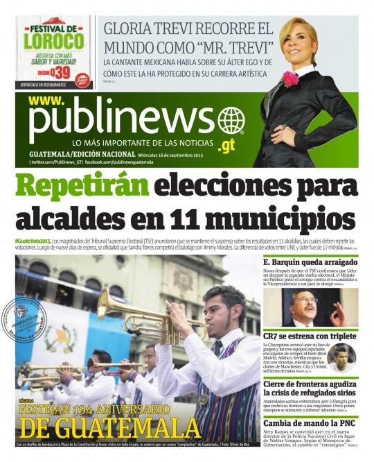 Publinews-Guatemala-portada-16-de-septiembre-2016-fiestas-patrias