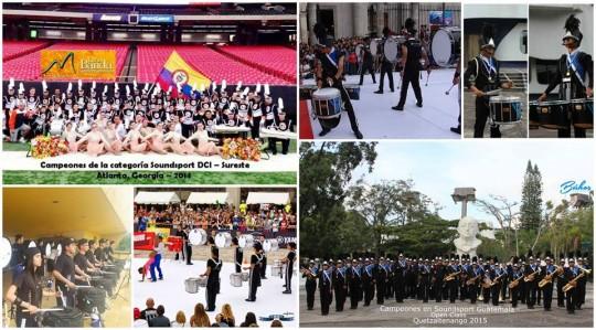 Concierto de recaudacion 2015 Buhos Marching Band Guatemala