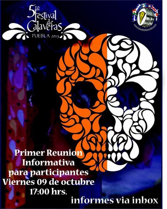 Mexico-5o-Festival-de-Las-Calaveras-2015-Puebla