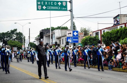 Patria Drum and Bugle Corps Guatemala gira Mexico 2015